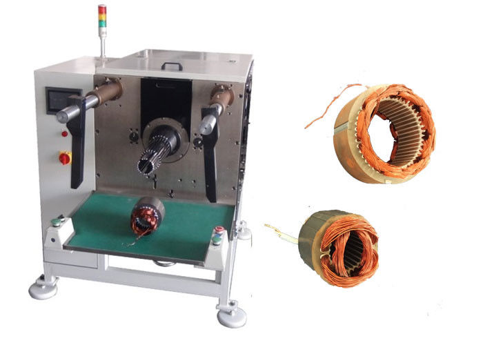 Automatic Servo Motor Stator Coil and Wedge Inserting Machine SMT - QX08