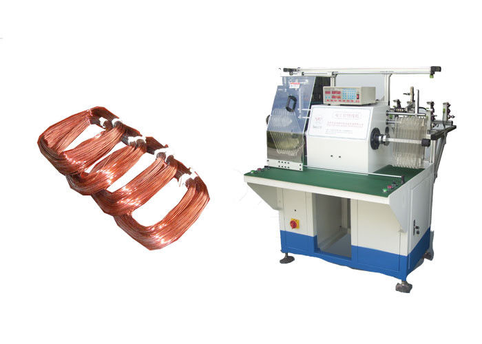 SMT - SR350 Electric Coil Winding Machine , Induction Motor Winding Machine