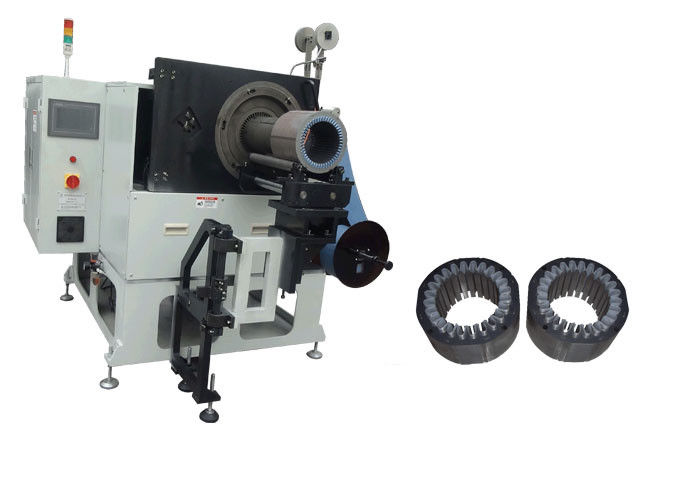 Stator Slot Insulation Machine  Paper Insertion Machine ≤300mm Stator OD