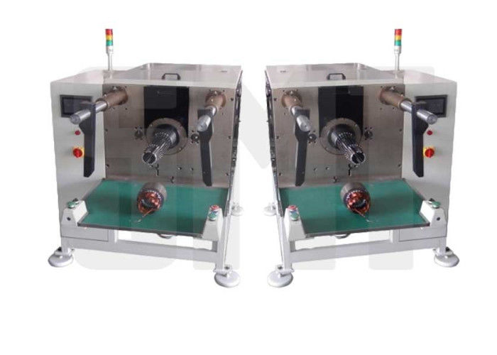 White Electric Induction Motor Stator Winding Inserting Machine With High Efficiency