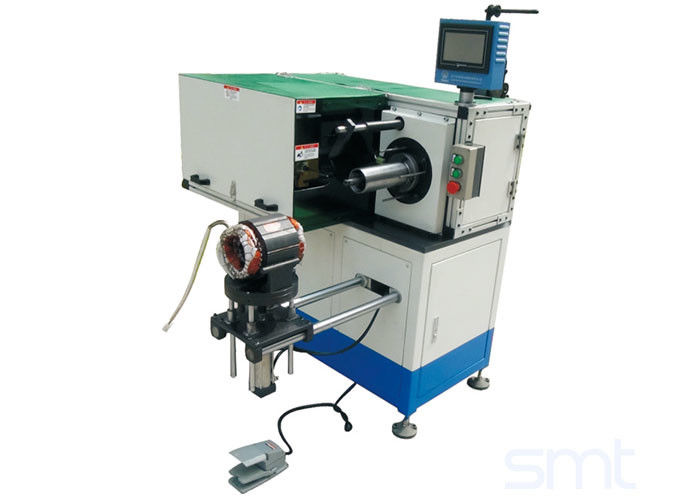 Horizontal Motor Automatic Stator Coil Winding Machine For Fan Washing Machine Motor