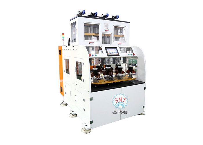 Fully Automatic Coil Winding Machine Alternator Stator Winding Machine With Eight Working Station
